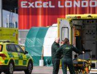 Сградата на пожарна в Брюксел се превърна в автомивка за дезинфекция на линейки
