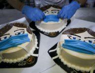 """Пекарна в Ивицата Газа предлага нов асортимент """"коронавирусни"""" торти"""