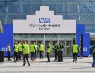 Откриха първата от общо шестте големи полеви болници за лечение на COVID-19 във Великобритания