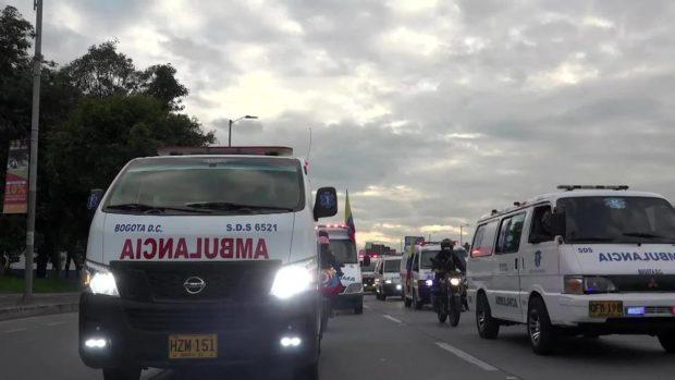 Мащабен протест на здравни работници в Богота заради забавени заплати