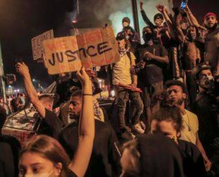 Протестите срещу полицейското насилие в САЩ се пренесоха и в Европа