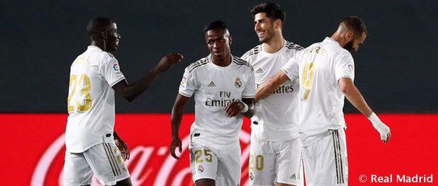 Реал Мадрид с нова победа след рестарта на Ла Лига