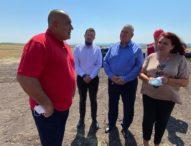 Премиерът Борисов инспектира строежа на интерконектора с Гърция
