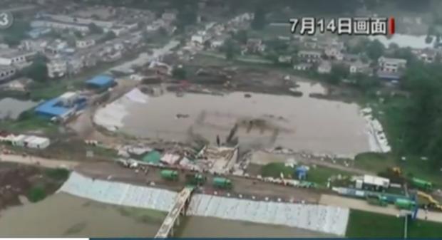 Няколко язовира в Южен Китай преливат заради придошлите от пороите води