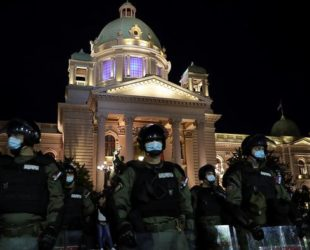 Безредици в Белград заради обявената нова карантина заради COVID-19