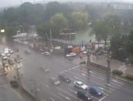 Дъжд и гръмотевици в Западна България