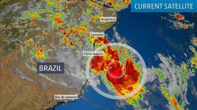 Мощен циклон взе жертви в Бразилия