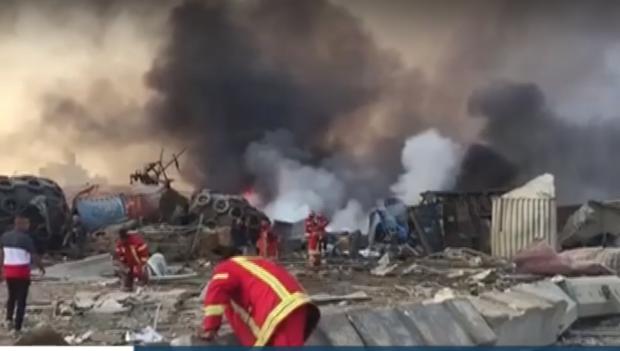 Растат жертвите на експлозията в Бейрут, над 20 държави изпратиха помощ
