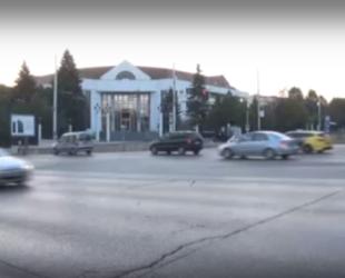 Вдигнаха блокадата на кръстовището пред Румънското посолство в София
