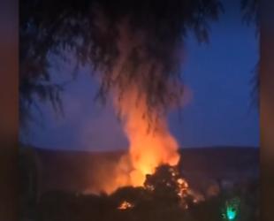 Обявиха бедствено положение и в община Свиленград заради пожара