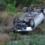 Двама души пострадаха, след като автомобил се преобърна по таван на пътя Симитли-Предел