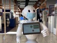 Хуманоиден робот разпознава носиш ли предпазна маска срещу Covid-19