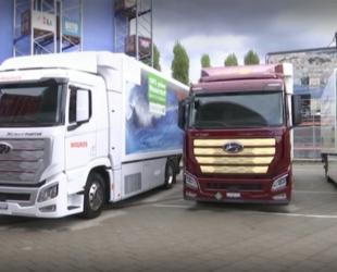 """""""Хюндай"""" достави 7 камиона, задвижвани с водород, на клиенти в Швейцария"""