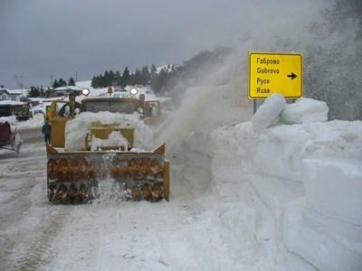 """Проходът """"Хаинбоаз"""" е отворен при зимни условия"""