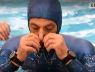 Водолаз подобри рекорда си за Гинес за задържане на дъх под водата – 24 минути и 33 секунди