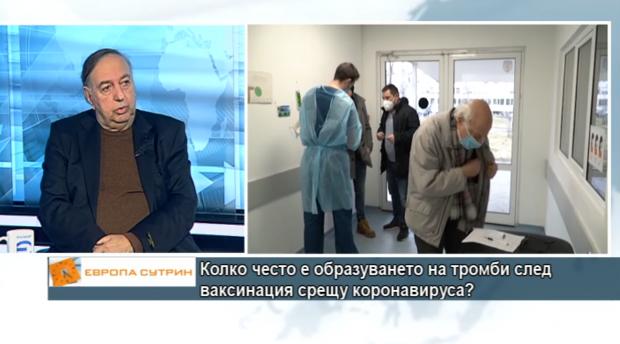 Проф. Гроздински: България е на 10-то място по смъртност от коронавируса в Европа