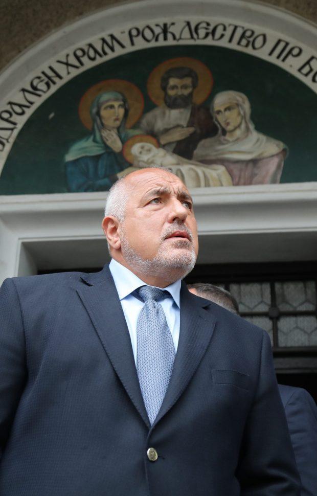 Борисов: Няма да поемам поста на премиер, ще предложа такъв с европейска ориентация