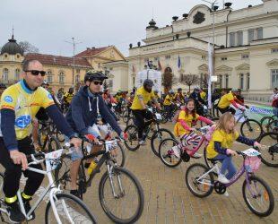 """Велошевствие под мотото """"За по-чист въздух"""" се проведе в София"""