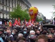 Демонстрации за 1 май преминаха със сблъсъци, арести и напрежение във Франция, Германия и Турция