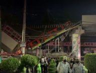Надлез на метрото рухна върху път в Мексико Сити, десетки загинали и пострадали