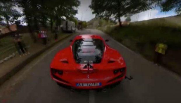 """Италианец подобри собствения си рекорд за скорост със своето """"Ферари"""""""