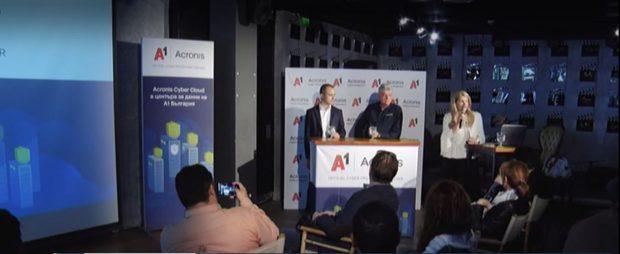 Горещи новини в сферата на киберсигурността: А1 и Acronis представят най-добрата защита на клиентите си