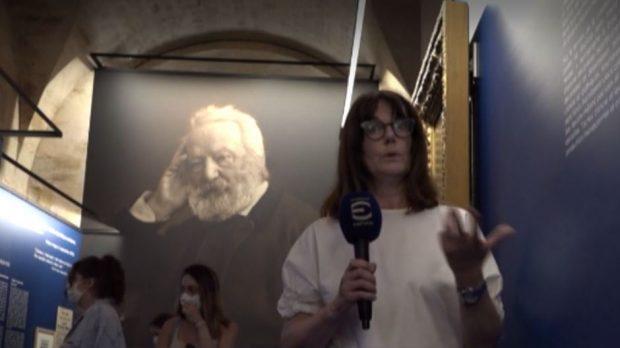 Пантеонът в Париж е домакин на изложба за Виктор Юго