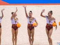 Златен ансамбъл: Българските гимнастички с първо място на пет топки от ЕП във Варна