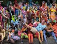 Художници и модели се включиха в Деня на бодипейнтинга в Ню Йорк