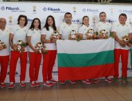 Национален флаг и лъвчета за късмет при изпращането на българските олимпийци за Токио