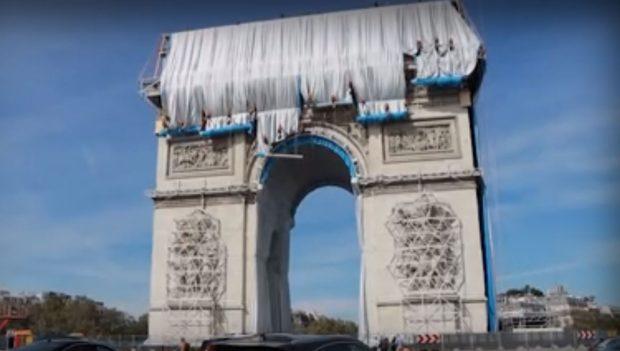 Сбъднатата мечта на Кристо: Откриват опакованата Триумфална арка на 18 септември