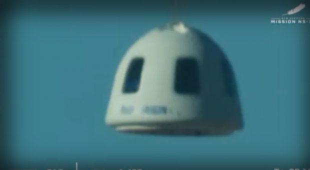 "Още 4-ма туристи летяха до открития Космос с кораба на ""Блу Ориджин"""