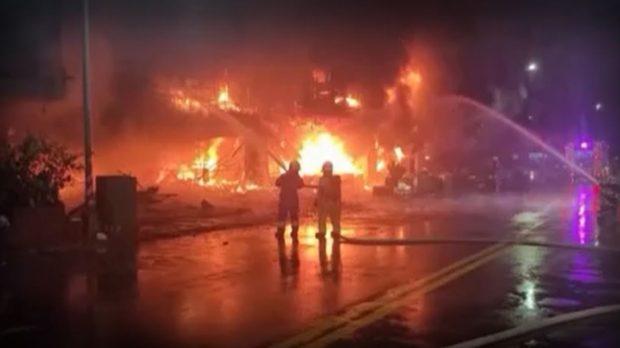 Голям пожар взе 46 жертви в Тайван