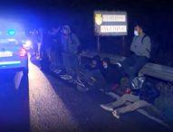 Над 20 нелегални мигранти задържа полицията край Мъглиж