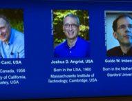 Нобеловата награда за икономика си поделят трима изследователи на икономиката на труда