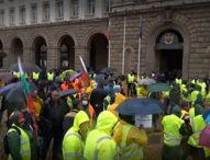 След среща с МРРБ: Протестите на пътните строители временно спират